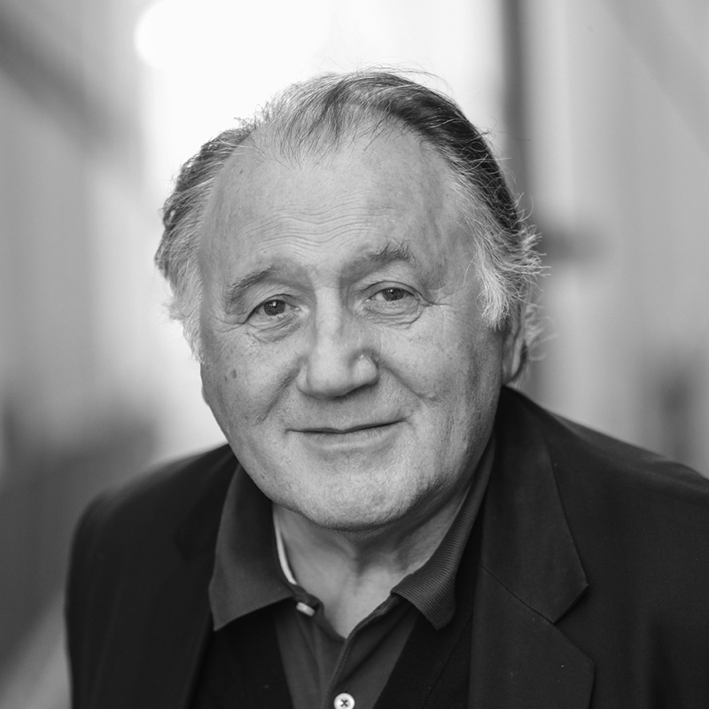 Portrait of Peter Weibel